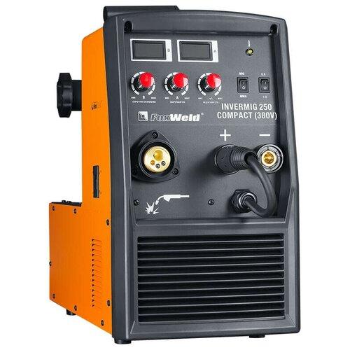 Сварочный аппарат инверторного типа FoxWeld Invermig 250 Compact MIG/MAG, MMA
