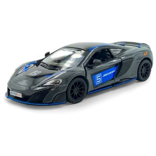Купить Гоночная машина Serinity Toys McLaren 675LT (5392DFKT) 1:34, 12.5 см, серый, Машинки и техника