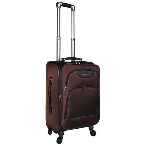 Фото - Чемодан Rion+ 432 59 л, коричневый чемодан rion 418 3 62 л серый