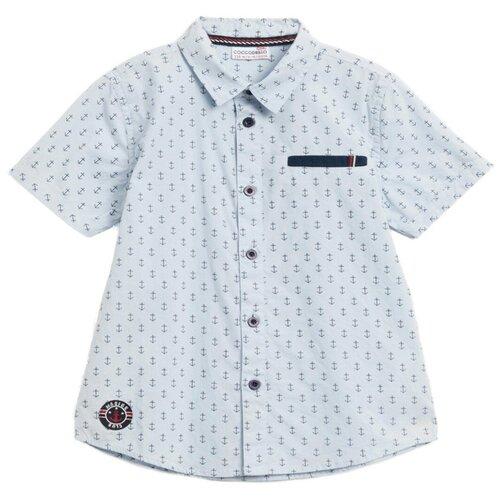 Рубашка COCCODRILLO размер 104, голубой