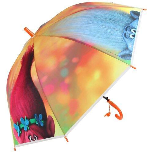 Зонт Amico оранжевый/розовый/голубой