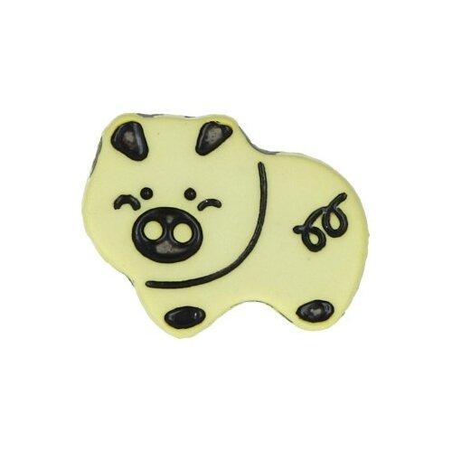 Купить Пуговицы детские Gamma 18 мм, 36 шт, №D503, лимонные (AY 9932)