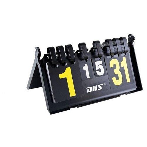 Счетчик судейский DHS F504, счет по парт.,в партии, складной со стопором, пластм