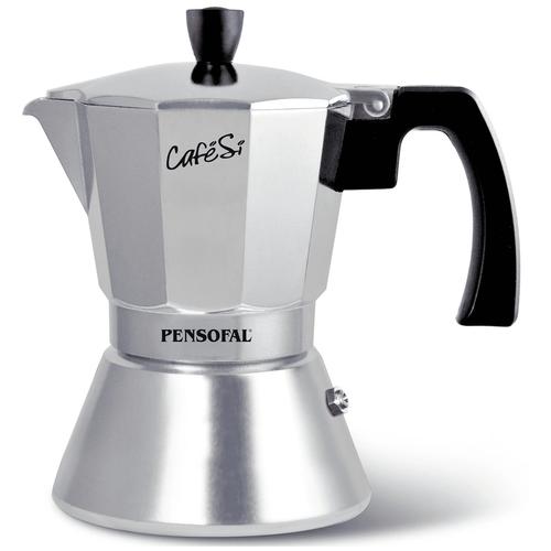 Фото - Кофеварка гейзерная 9 чашек CafeSi Classic инд. 450 мл Pensofal PEN8423 гейзерная кофеварка на 6 чашек 350 мл pensofal