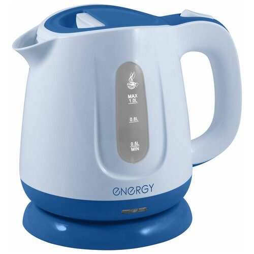 Чайник Energy E-234, white/blue чайник energy e 234 white blue