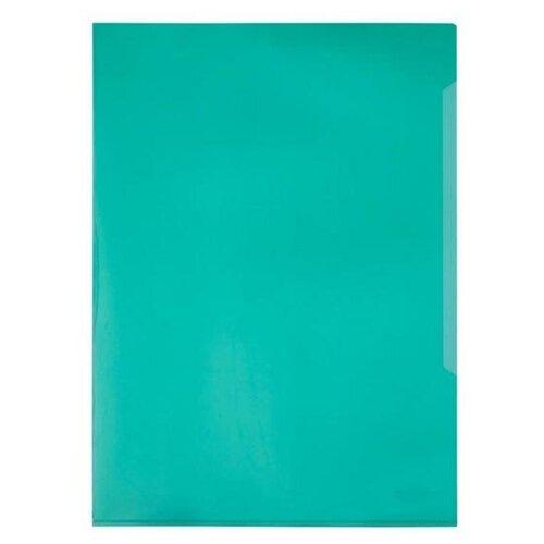 Купить DURABLE Папка-уголок А4, пластик, 120 мкм, 50 шт. зелeный, Файлы и папки
