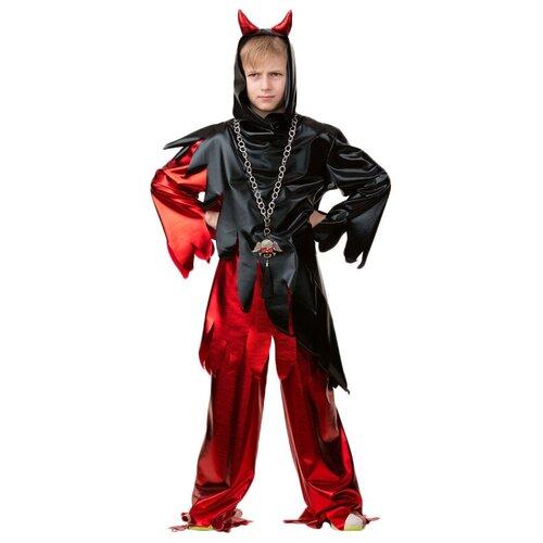 Купить Костюм Батик Демон (6071), черный/красный, размер 146, Карнавальные костюмы