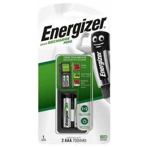 Зарядное устройство + аккумуляторы Energizer MINI Charger + 2шт. AAA 700mAh (962672)