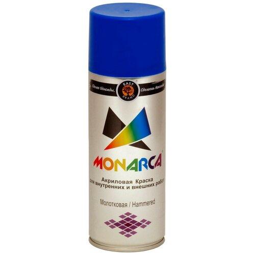 Краска Eastbrand Monarca молотковая синий 520 мл