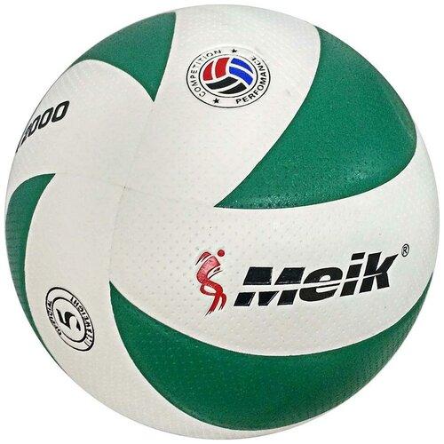 Волейбольный мяч Meik VXL2000 бело-зеленый