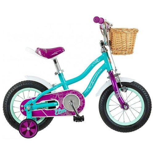 Детский велосипед Schwinn Elm 12 голубой (требует финальной сборки)