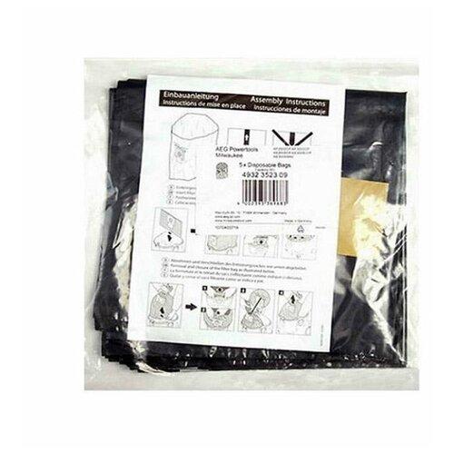 AEG Мешки для пылесоса 4932352309 черный 5 шт.