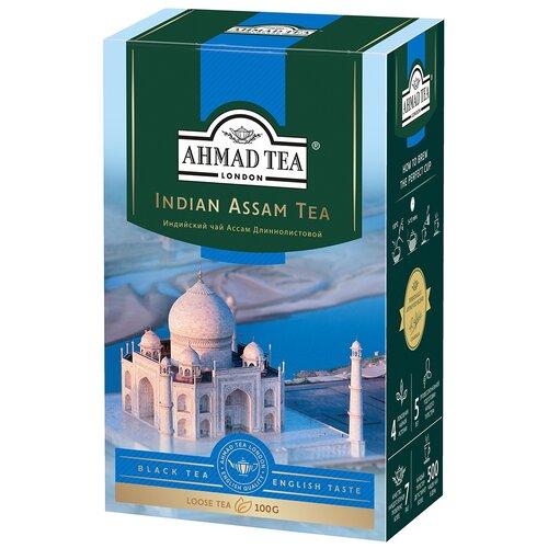 Чай черный Ahmad tea Indian assam tea, 100 г чай ahmad tea ceylon tea op черный 100 г