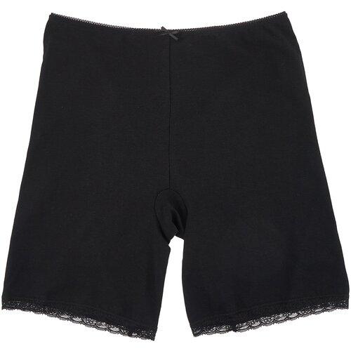 MiNiMi Трусы панталоны с завышенной талией, размер 48/L, черный (nero)