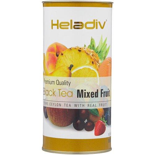 чай черный heladiv premium quality black tea lemon 100 г Чай черный Heladiv Premium Quality Black Tea Mixed Fruit, 100 г
