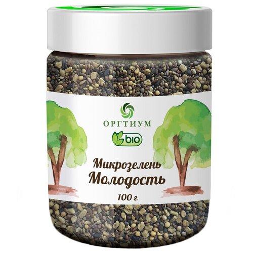 Смесь семян Оргтиум Микрозелень Молодость, 100 г микс семян льна оргтиум 200 г