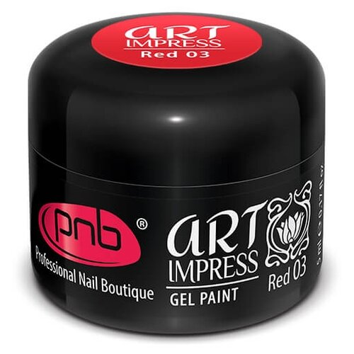 Купить Краска гелевая PNB Art Impress red 03