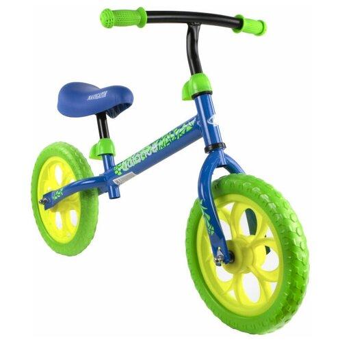 Купить Беговел Navigator Balance ВН12122/ВН12124, синий/зеленый, Беговелы