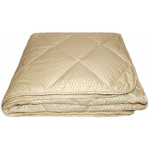 Фото - Одеяло Соната Люкс овечья шерсть, легкое, 172 х 205 см (бежевый) одеяло альвитек соната легкое 172 х 205 см бежевый