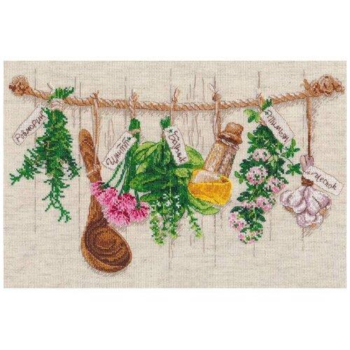 Набор для вышивания «Душистые травы», 34x22 см, Овен