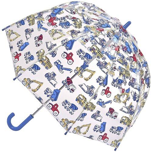 Зонт FULTON прозрачный/синий
