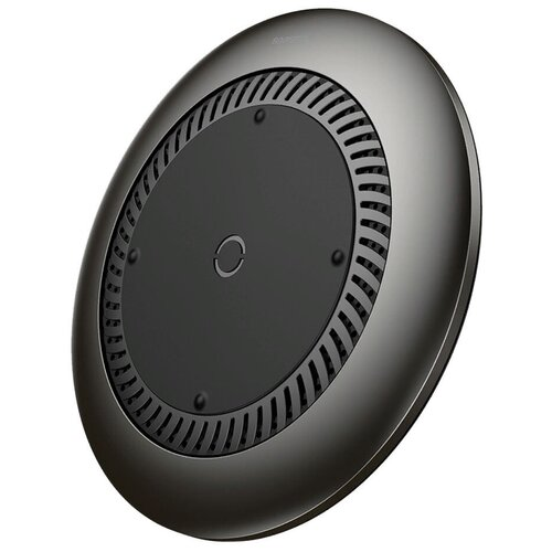 Фото - Беспроводная сетевая зарядка Baseus Whirlwind Desktop Wireless Charger, черный беспроводная сетевая зарядка baseus card ultra thin wireless charger черный