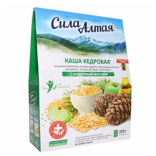 Специалист Каша Сила Алтая кедровая с кедровым маслом, порционная (5 шт.) 223 г