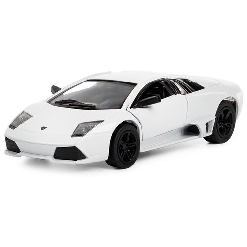 Купить Легковой автомобиль Serinity Toys Lamborghini Murcielago (5317DKT) 1:36, 12.5 см, белый, Машинки и техника