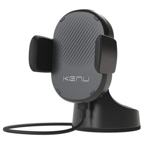 Держатель с беспроводной зарядкой Kenu Airbase Qi Wireless Charging черный