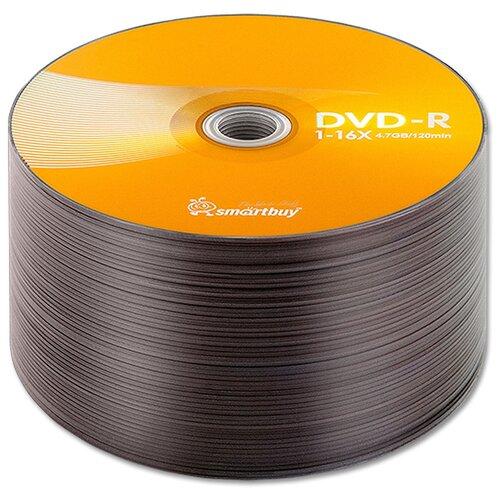 Диск SmartBuy DVD-R 47Gb 16x bulk упаковка 50 штук