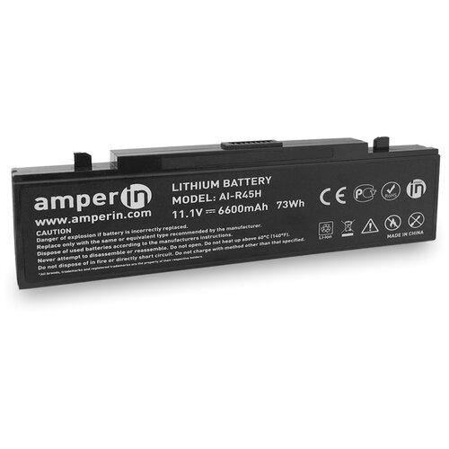 Аккумуляторная батарея Amperin для ноутбука Samsung NP X R P M 11.1V 6600mAh (73Wh) AI-R45H
