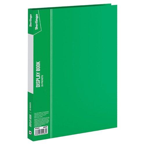 Фото - Berlingo Папка с 20 вкладышами Standard,14 мм, 600 мкм, пластик зеленый berlingo папка с 20 вкладышами neon a4 14 мм 700 мкм пластик зеленый