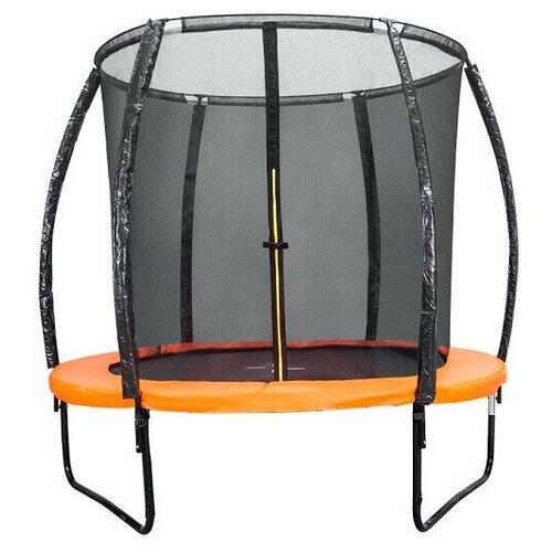 Фото - Каркасный батут DFC KENGOO II 5FT без лестницы 152х152х205 см оранжевый/черный каркасный батут dfc trampoline kengoo ii 16ft bas bo оранжевый