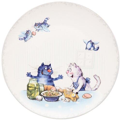 Тарелка закусочная любовь моя 20,5 см Lefard (104-714)