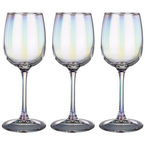 Набор бокалов из 3 шт лиловая дымка 300 мл Lefard (194-508)