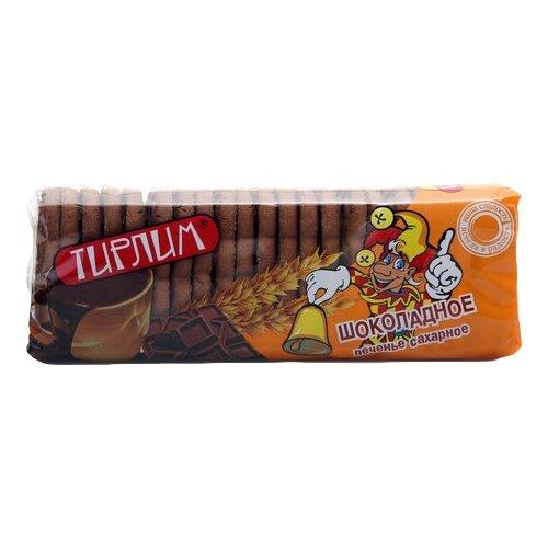 Фото - Печенье Тирлим сахарное шоколадное, 12 шт по 400 г, 12 шт. кухмастер печенье сахарное шоколадное 170г кухмастер