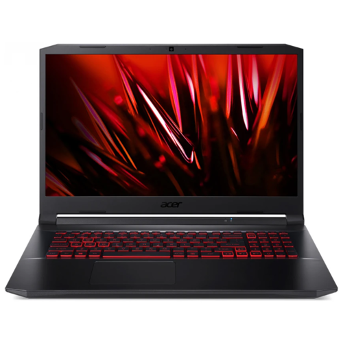 "Ноутбук Acer Nitro 5 AN517-53-52NB (Intel Core i5 11300H/17.3""/1920x1080/8GB/512GB SSD/NVIDIA GeForce GTX 1650 4GB/Endless OS) NH.QBKER.003 черный"