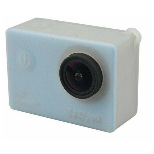 Фото - Защитный чехол для экшн-камеры SJCAM SJ4000 - белый аккумулятор sjcam для sj6 legend