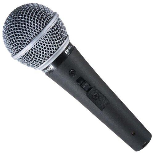 Микрофон Shure SM48S-LC, черный