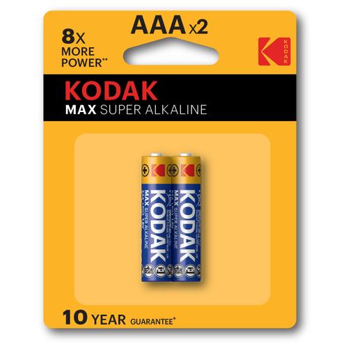 Фото - Элемент питания KODAK MAX LR03 BL2 (K3A-2) 2 шт элемент питания navigator 94 750 nbt ne lr03 bp2