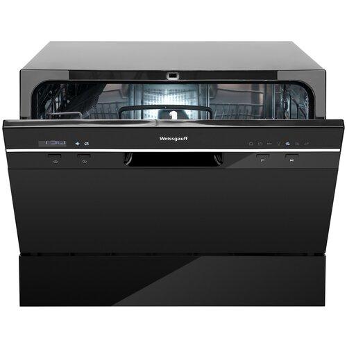 Посудомоечная машина Weissgauff TDW 4017 D (черный) посудомоечная машина weissgauff tdw 4006