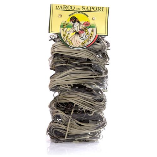 Паста клубок черно-белая Pastificio Curti 250 г