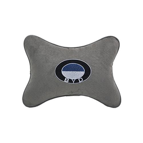 Подушка на подголовник алькантара L.Grey BYD