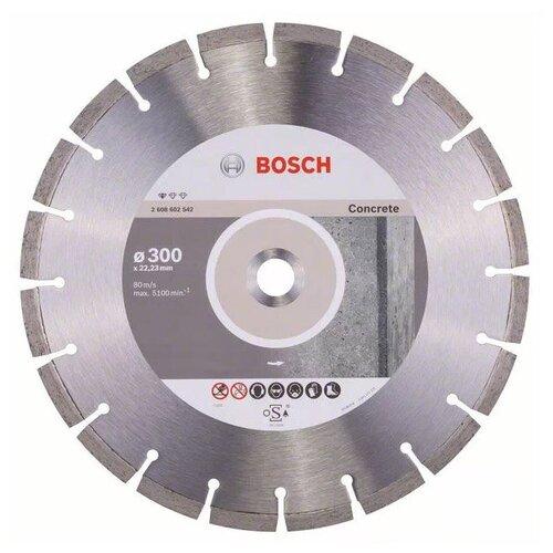 Фото - Диск алмазный отрезной BOSCH Standard for Concrete 2608602542, 300 мм 1 шт. диск алмазный отрезной bosch standard for ceramic 2608602201 115 мм 1 шт