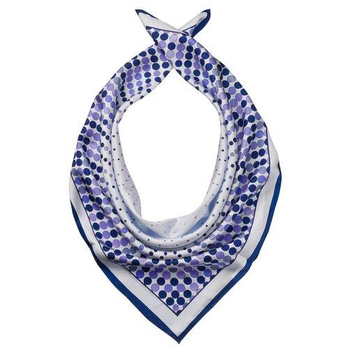Платок Dr.Koffer S810424-180 100% шелк синий