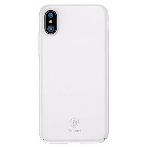 Фото - Чехол-накладка Baseus Thin Case для Apple iPhone X white чехол накладка baseus thin case для apple iphone x black