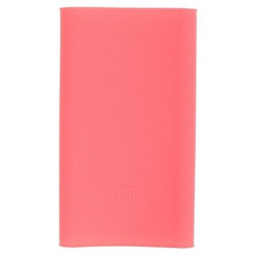 Чехол для внешнего аккумулятора Xiaomi MI Power 2 10000 mAh розовый