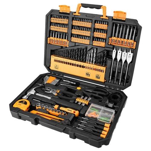 Фото - Набор инструментов DEKO DKMT200, 200 предм., черный/желтый набор инструментов deko tz82 82 предм черный желтый