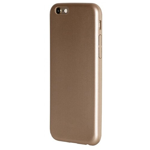 Фото - Чехол-накладка uBear Coast Case для Apple iPhone 6/iPhone 6S gold чехол накладка ubear soft tone для apple iphone 6 iphone 6s прозрачный