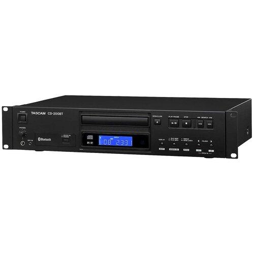 Tascam CD-200BT CD плеер Wav/MP3 Bluetooth, RCA /SPDIF, CD-Text